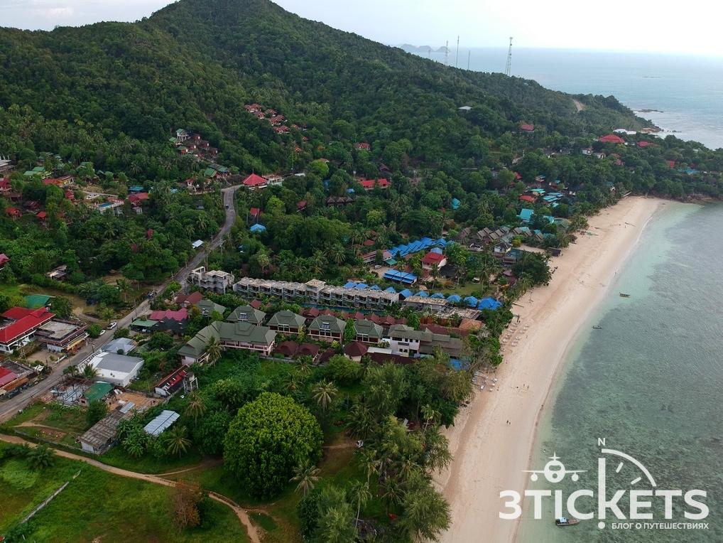Пляж Хаад Яо на Пангане