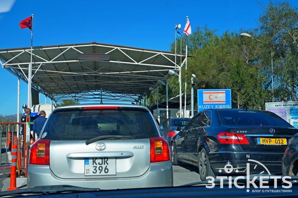 Граница между Северным и Южным Кипром