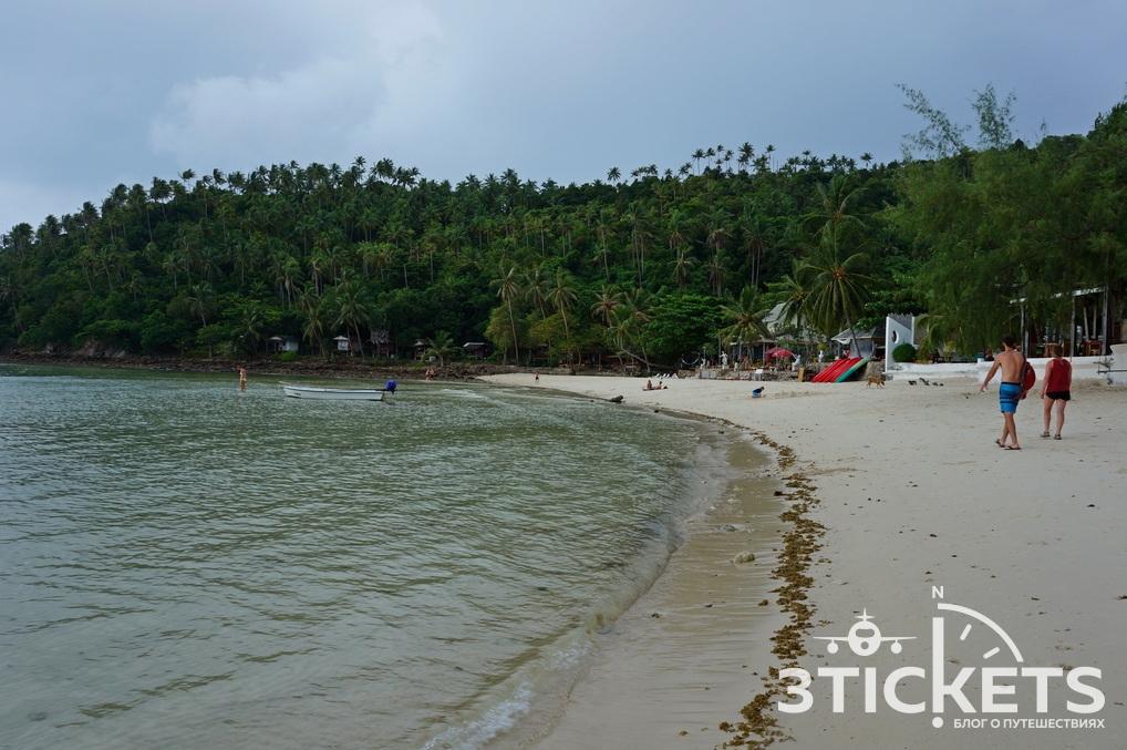 Пляж Хаад Салад на Пангане (Таиланд)