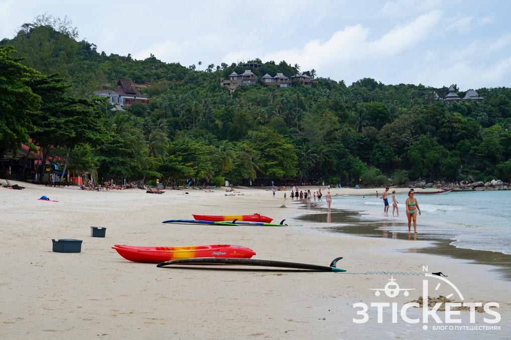 Фото пляжаAoThong Nai Pan Noi Beach на Пангане