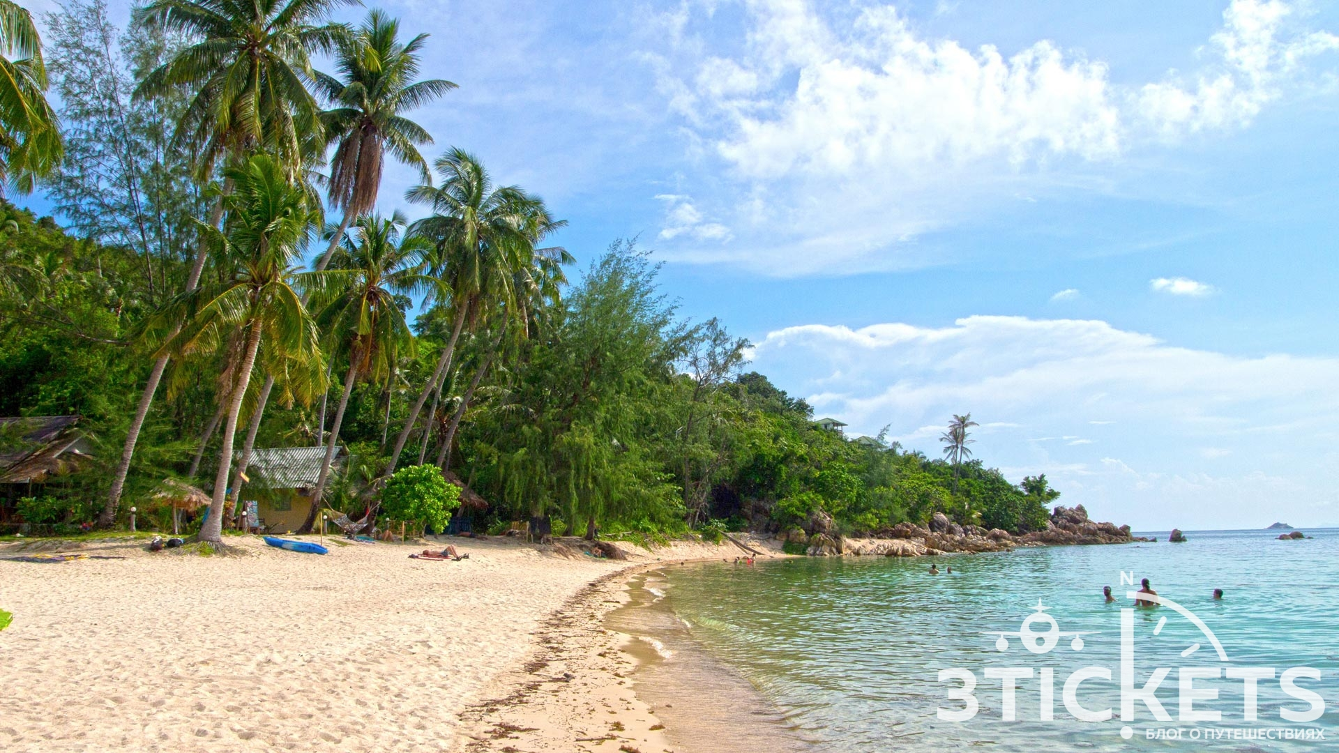 Пляж отеля Лила (Leela Beach) на Пангане