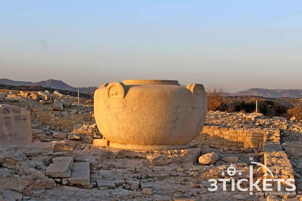 Достопримечательности Лимассола на Кипре: Руины Аматуса