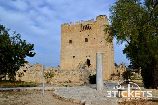 Достопримечательности Лимассола на Кипре: Замок Колосси