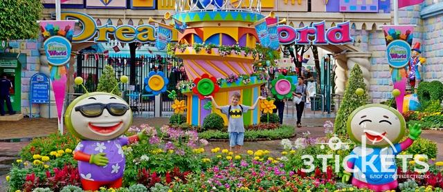 Парк развлечений «Дрим Ворлд»: азиатский Диснейленд вБангкоке