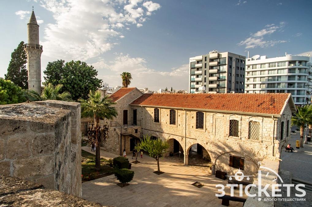 Ларнакский замок на Кипре