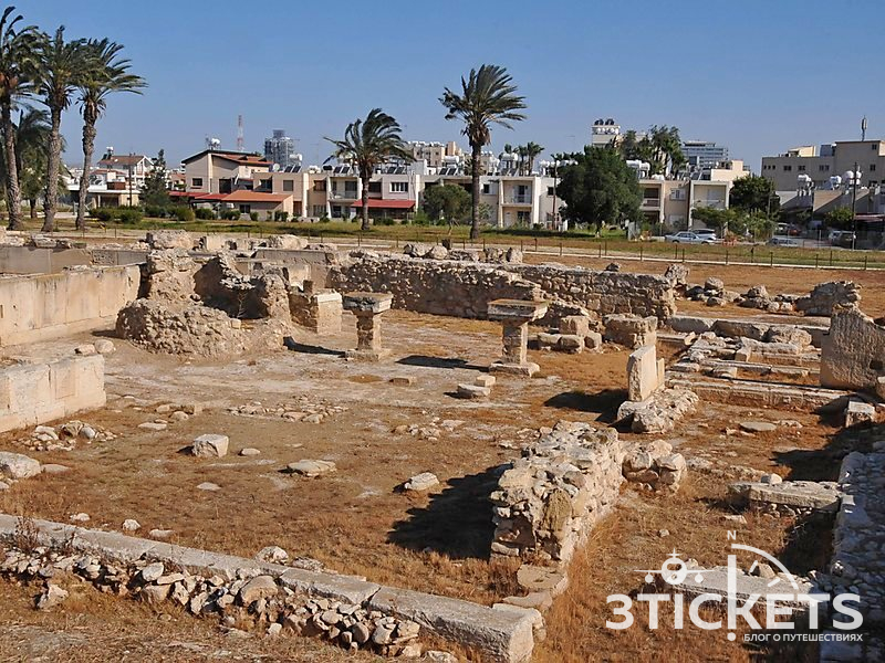 Древний Китион в Ларнаке, Кипр