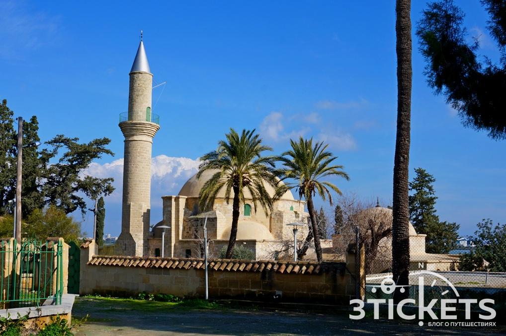Мечеть Хала Султан Текке в Ларнаке, Кипр