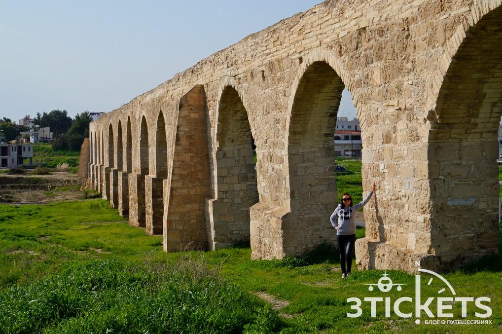 Акведук Камарес в Ларнаке, Кипр