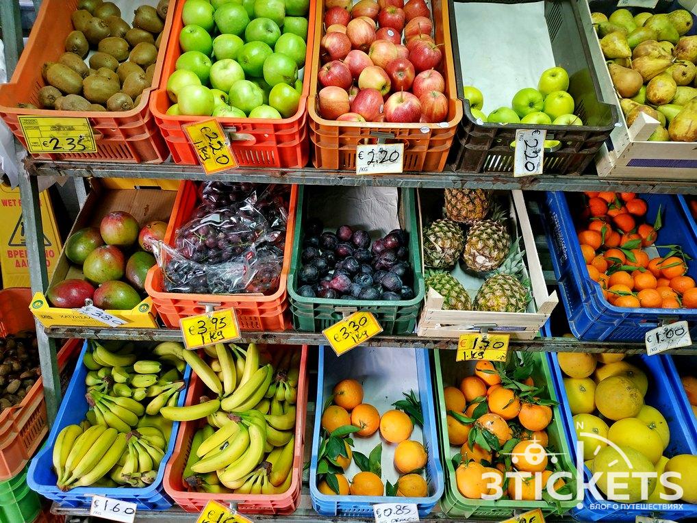 Цены на Кипре в супермаркетах
