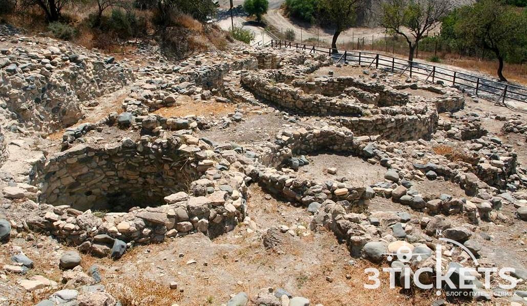 Древний город Хирокития в Ларнаке, Кипр