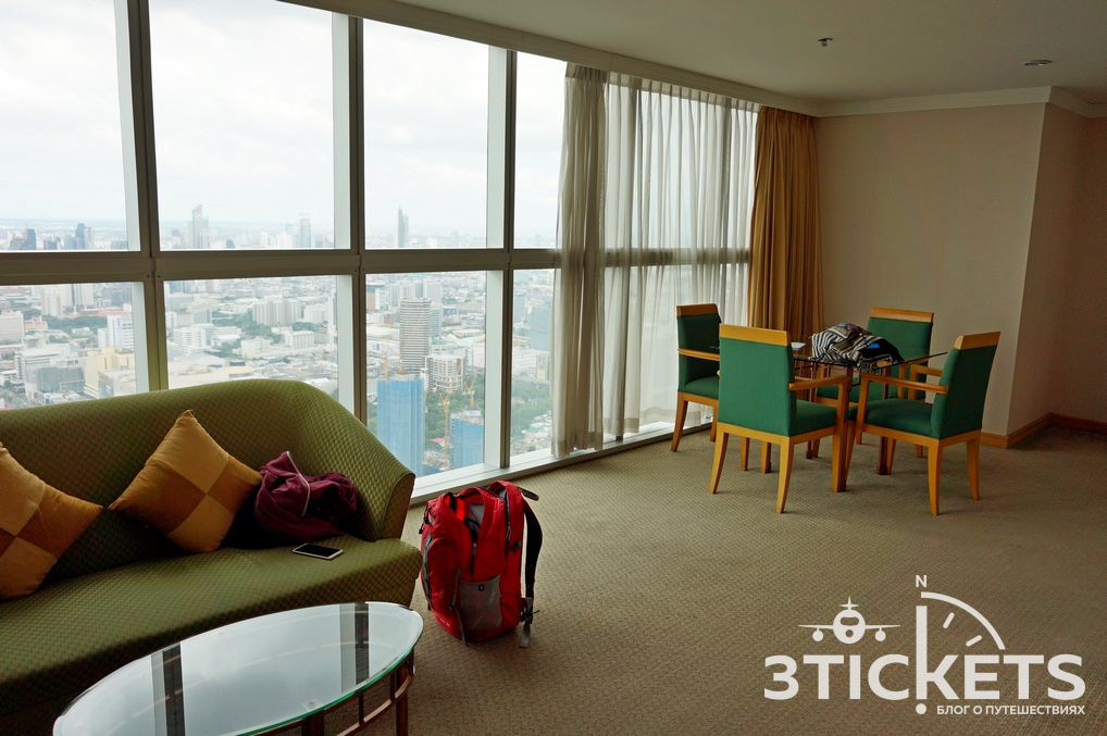 Отель Байок Скай в Бангкоке: номера