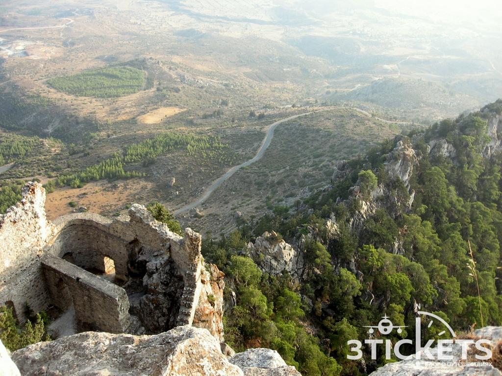 Замок Буффавенто в Кирении, Северный Кипр