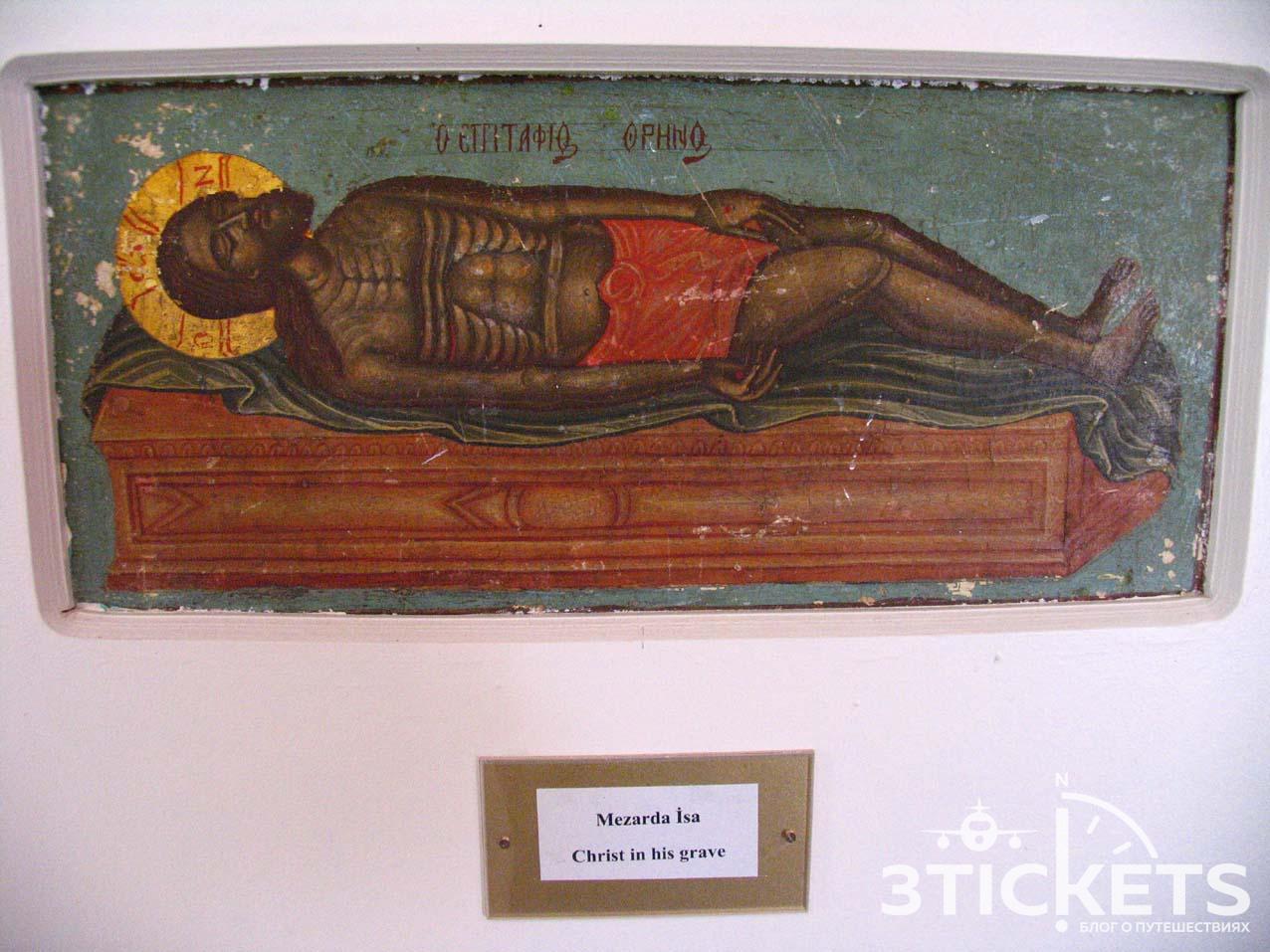 Музей икон вцеркви Архангела Михаила исоседние руины церкви IVвека