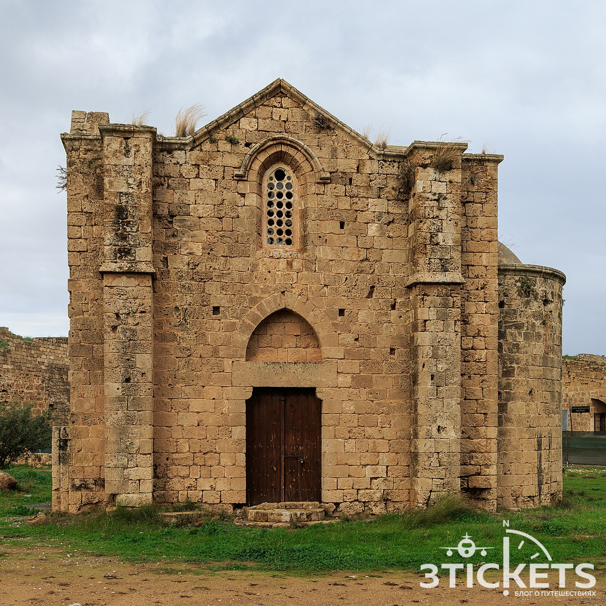 Армянский монастырь Ганчвор, Фамагуста, Северный Кипр