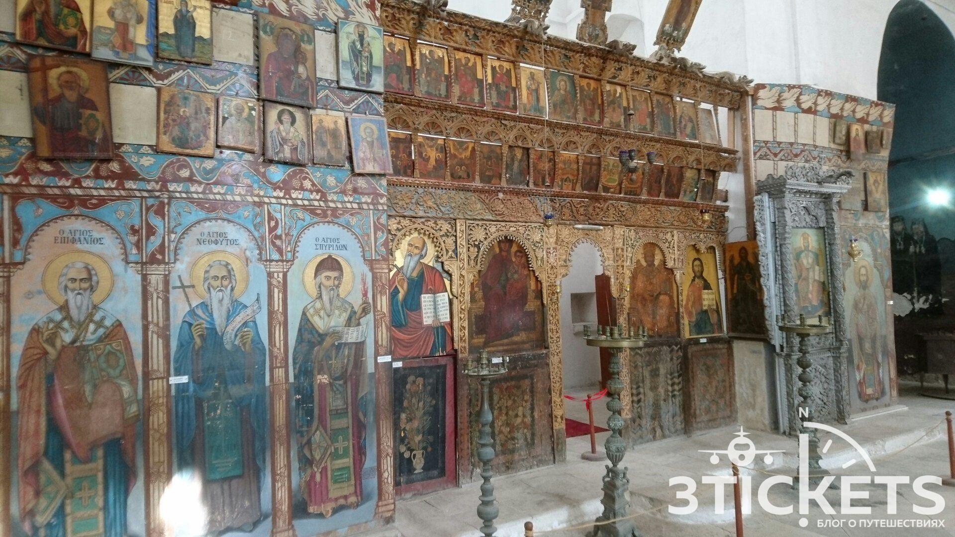 Монастырь Св. Варнавы в Фамагусте, Северный Кипр