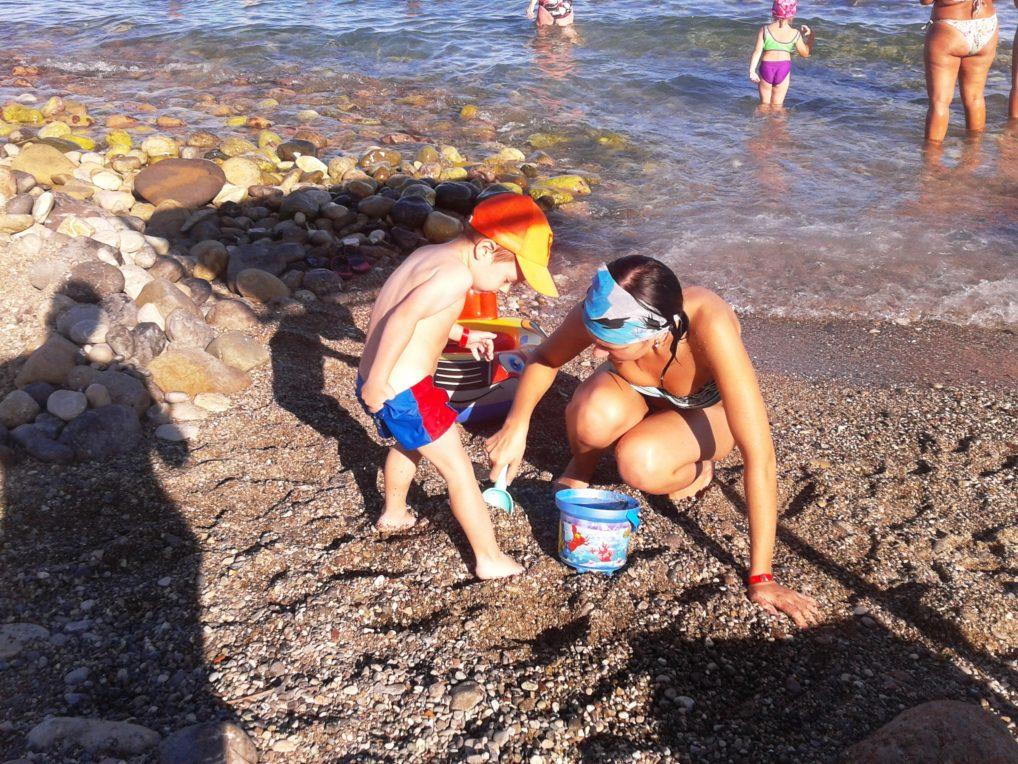 Пляж в Кемере Бельдиби