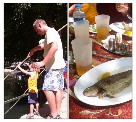 Рыбалка в горах