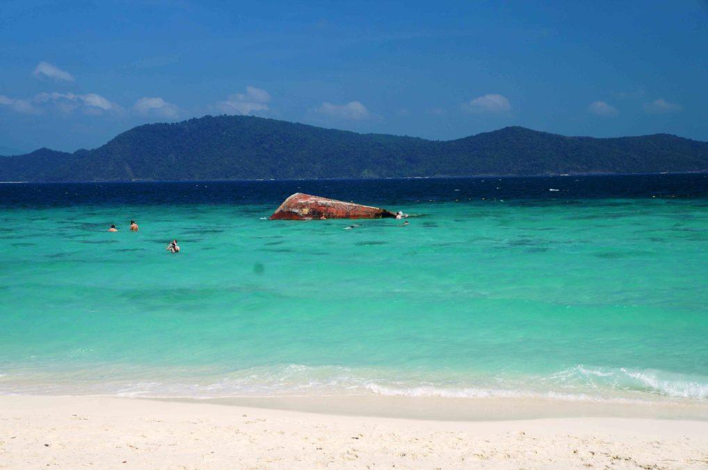Коралловый остров Тайиланд