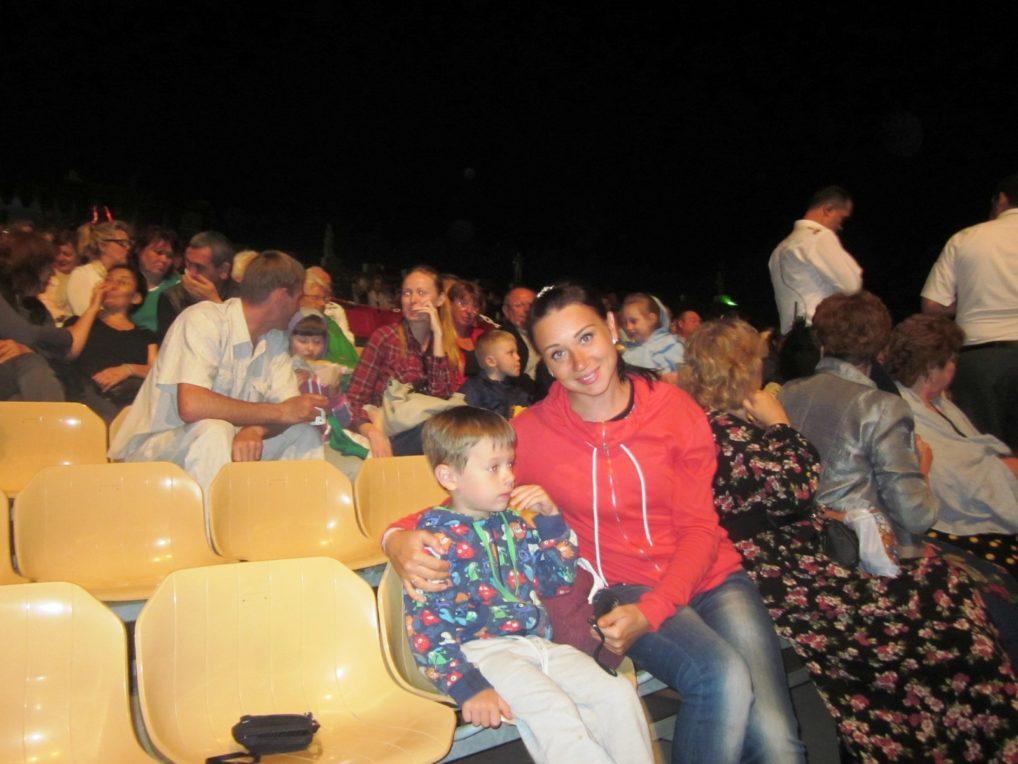 Сидения на шоу Огни Анатолии