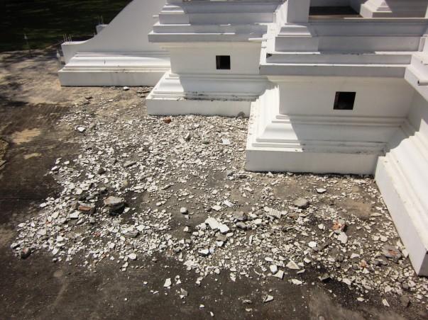 Разрушение Белого Храма в Таиланде