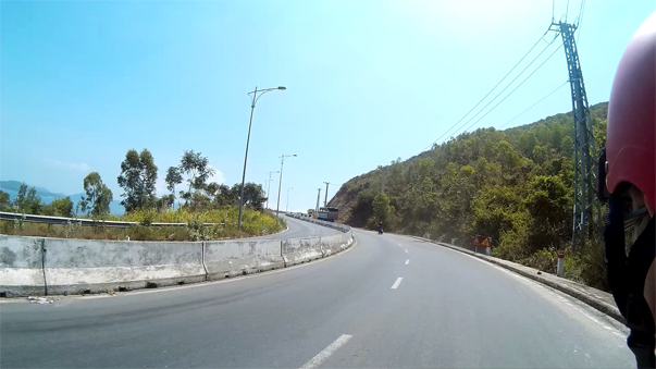 Дорога на пляж Бай Зай