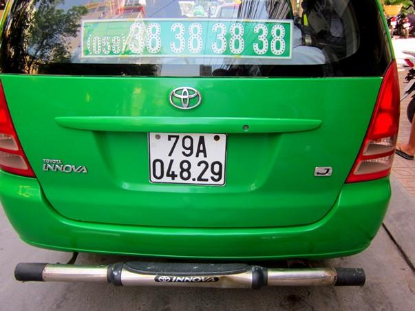 Автомобильный номер во Вьетнаме
