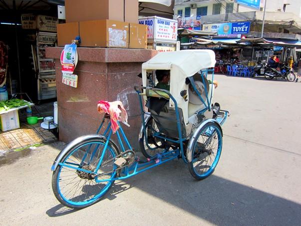 Велорикша во Вьетнаме