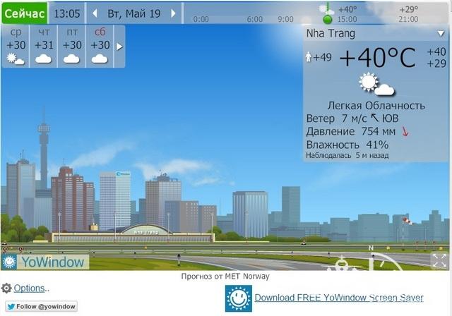 Погода в Нячанге в мае