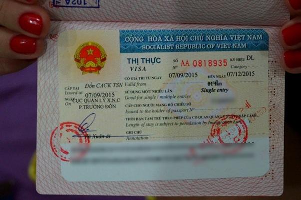 Как самостоятельно получить визу во Вьетнам: наш опыт