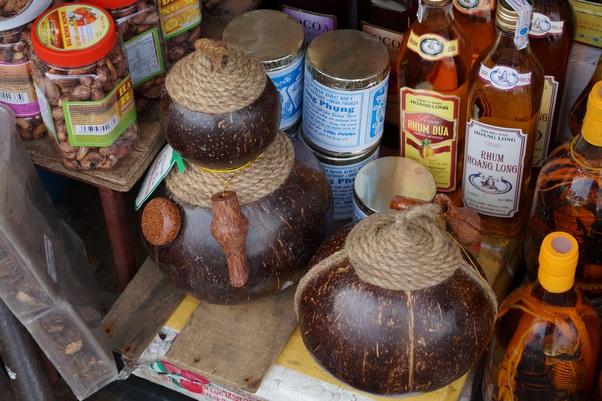Рисовая водка в кокосе