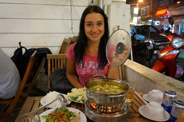 Хотпот с морепродуктами во Вьетнаме