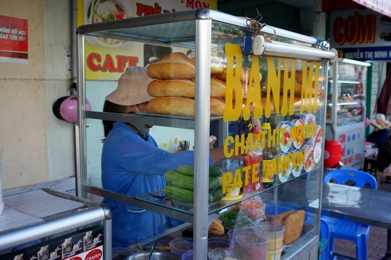 Багет Bánh mì во Вьетнаме