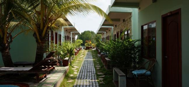 Отели на пляже Отрес (Сиануквиль, Камбоджа)