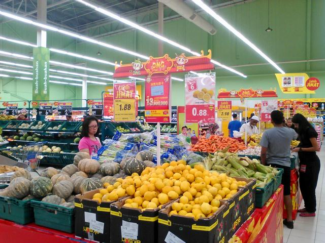 Цены на продукты на Пенанге
