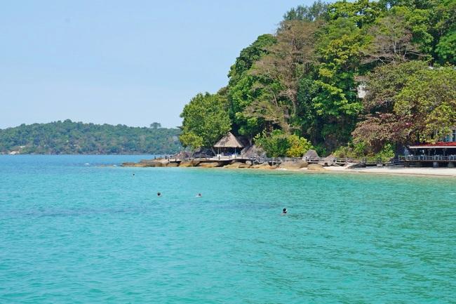 Пляж Индепендес в Сиануквиле (Камбоджа)