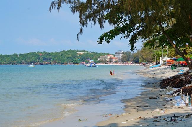Пляж Очутел в Сиануквиле (Камбоджа)