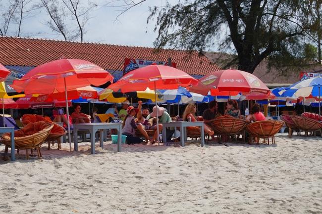 Пляж Серендипити в Сиануквиле (Камбоджа)