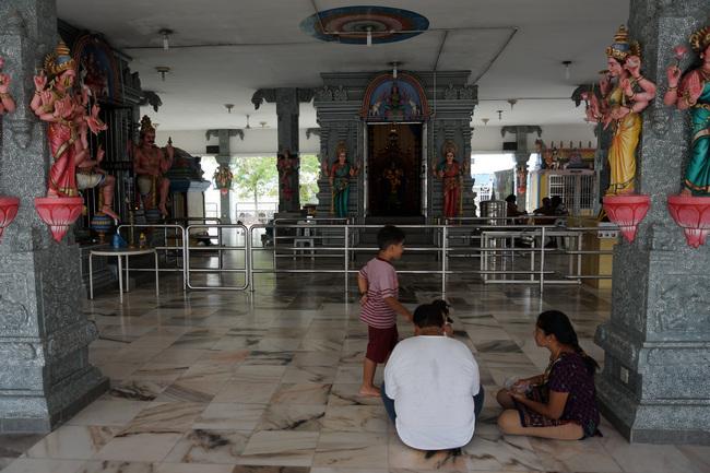 Индуистский храм, Пенанг (Малайзия)