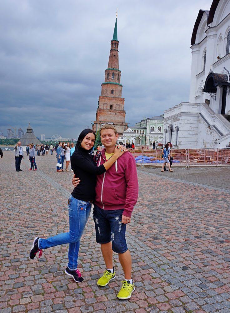Башня Сююмбике в Казани