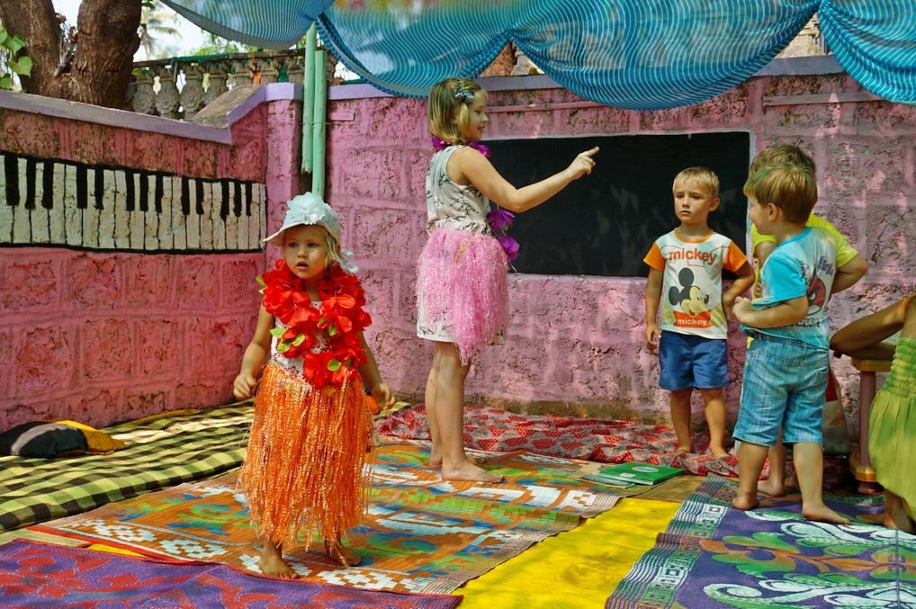 Детский сад и школа в Гоа: отдых со школьником