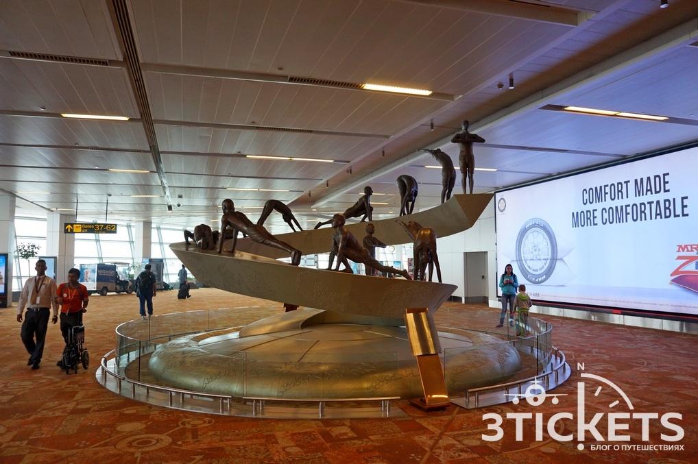 Аэропорт Дели имени Индиры Ганди