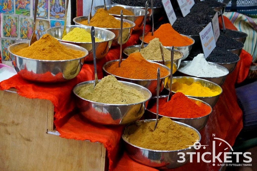 Приправа масала в Индии