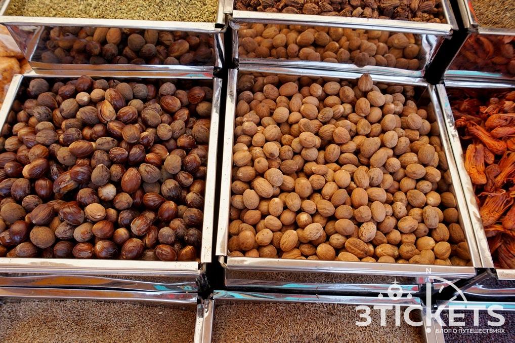 Мускатный орех в Индии