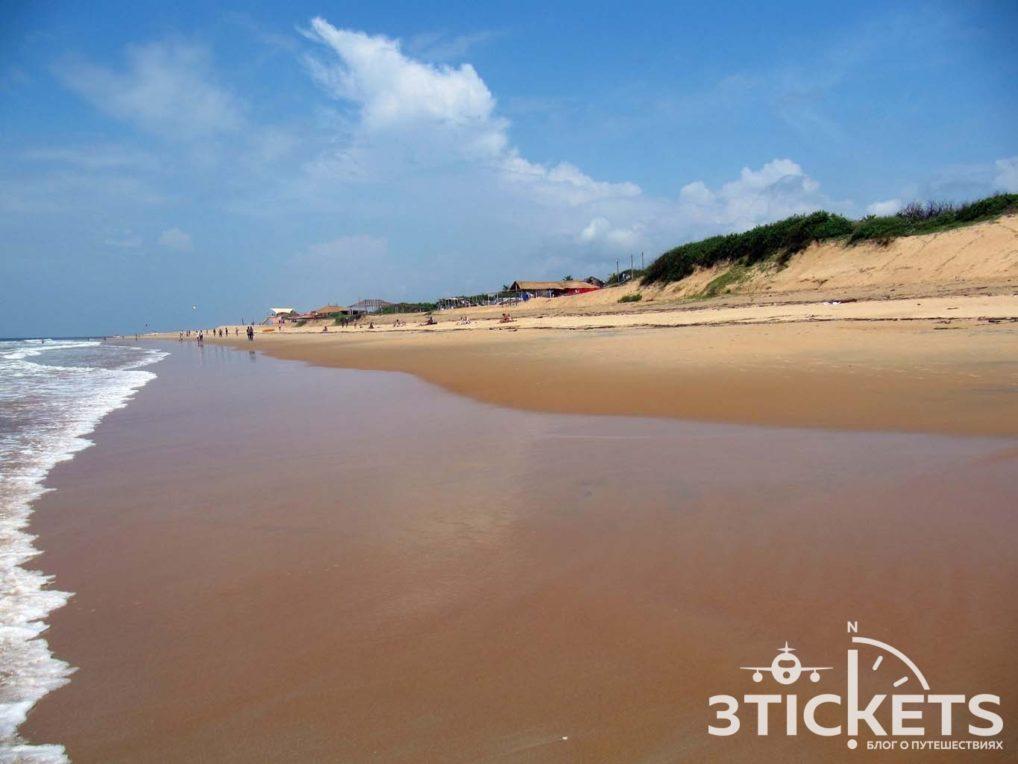 Пляжи Гоа: Кандолим (фото)