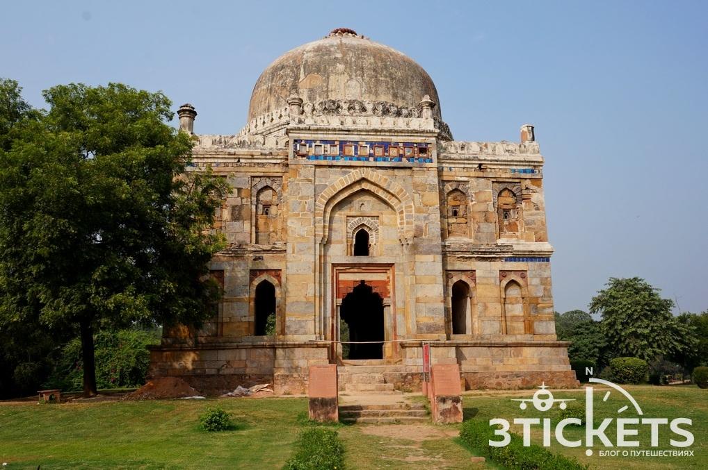 Сады Лоди, Дели (Индия): фото