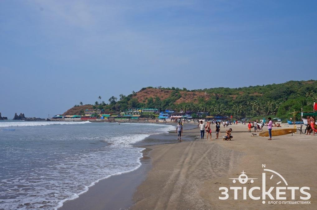 Пляжи Гоа: Арамболь (фото)