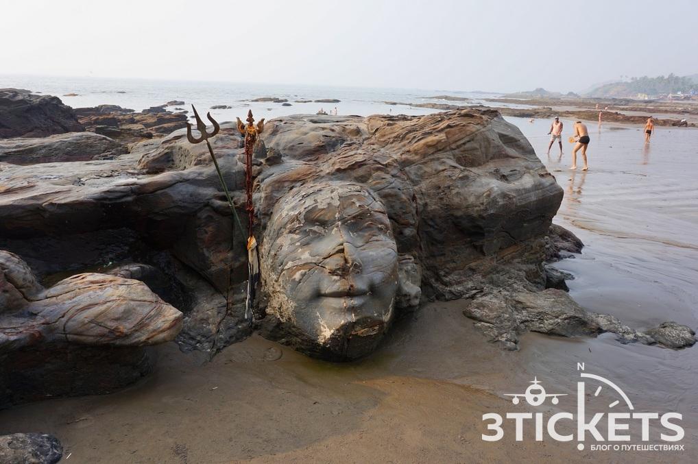 Пляжи Гоа: Вагатор (фото)