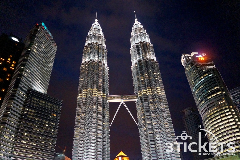 Достопримечательности Куала-Лумпура (Малайзия): башни-близнецы Петронас