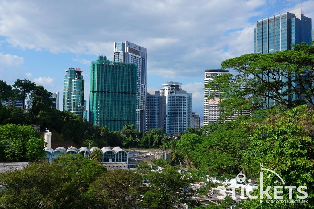 Достопримечательности Куала-Лумпура (Малайзия): телебашня Менара