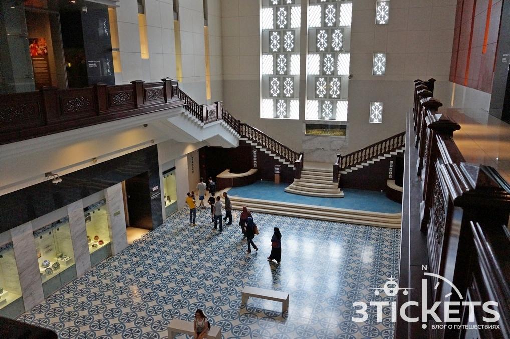 Достопримечательности Куала-Лумпура (Малайзия): национальный музей Малайзии